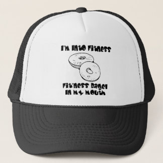 IM Into Fitness - Bagels Trucker Hat