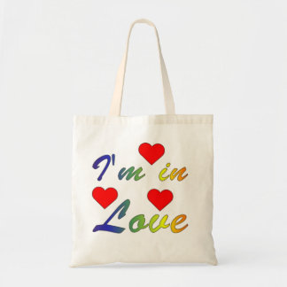 I'm into love tote bags