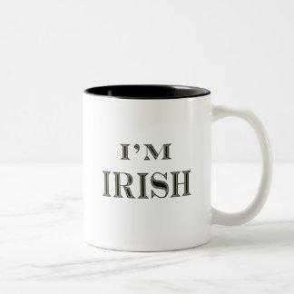 I'm Irish2 Two-Tone Coffee Mug