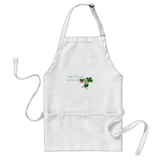 I'm irish! adult apron