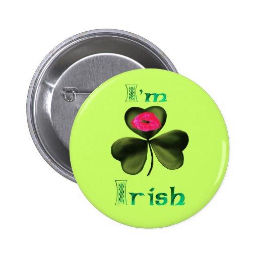 I'm Irish Button