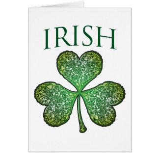 I'm Irish! Happy St Patrick's Day Card