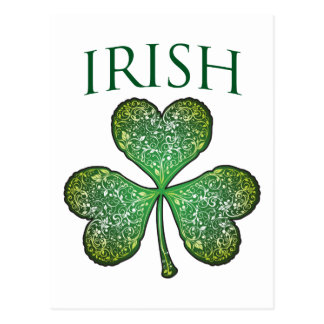 I'm Irish! Happy St Patrick's Day Postcard