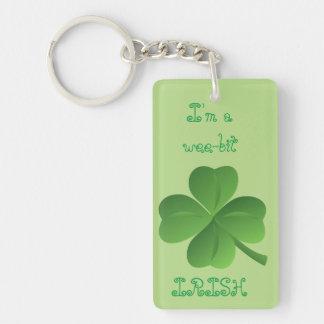 I'm Irish Keychain