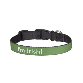 I'm Irish! Pet Collar