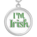 I'm Irish  Text Image Personalized Necklace