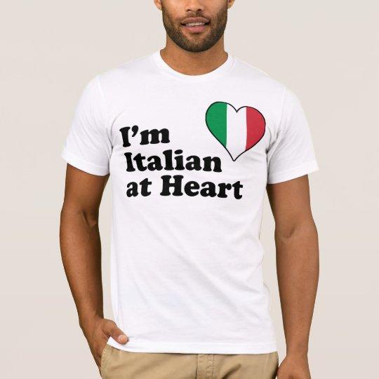 I'm Italian at Heart T-Shirt