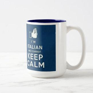 I'm Italian I cannot keep calm Coffee Mug