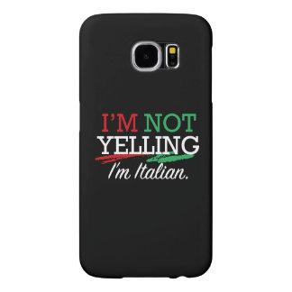 I'm Italian Samsung Galaxy S6 Case