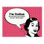IM ITALIANO - USTED QUIERE AL ITALIANO EN USTED POSTALES