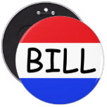 I'm Just a Bill (from Capitol Hill) 6 Inch Round Button