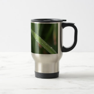 I'm just a blade of grass in the dew travel mug