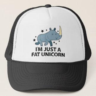 I'm Just A Fat Unicorn Trucker Hat