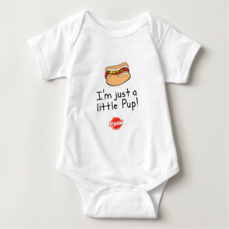I'm Just a Little Pup! Baby Bodysuit