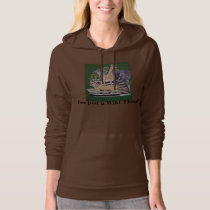 I'm Just a Wild Thing by bbillips Hoodie
