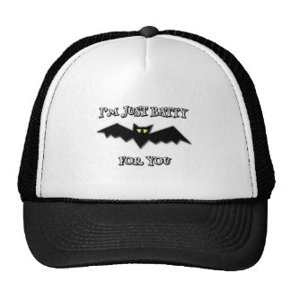 I'm just batty for you trucker hat