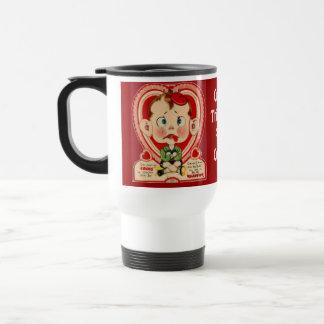 """""""I'm Just Cross""""  Vintage Travel Mug"""