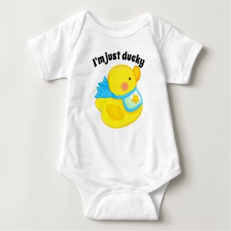 I'm just ducky baby bodysuit