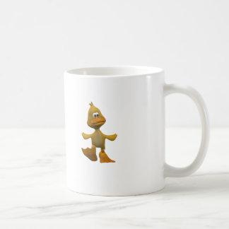 i'm just ducky classic white coffee mug