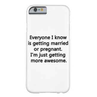 I'm just getting more awesome iPhone 6/6s Barely There iPhone 6 Case