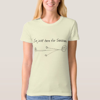 I'm just here for Savasana T-Shirt