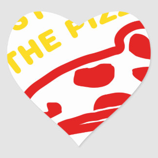 Im Just Here For The Pizza Stickers