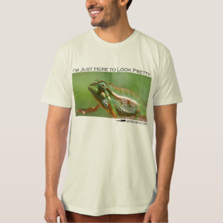 I'm just here to look pretty - chameleon 2 tee shirt