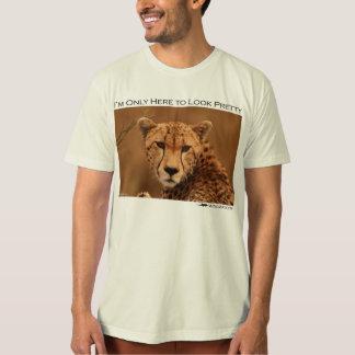 I'm just here to look pretty - cheetah tee shirts
