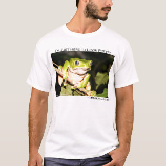I'm just here to look pretty - monkey frog T-Shirt