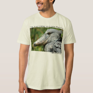 I'm just here to look pretty - shoebill tees