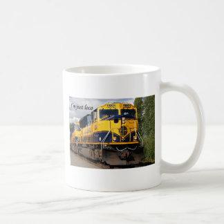I'm just loco: Alaska Railroad Coffee Mug