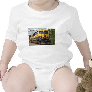 I'm just loco: Alaska Railroad T-shirt