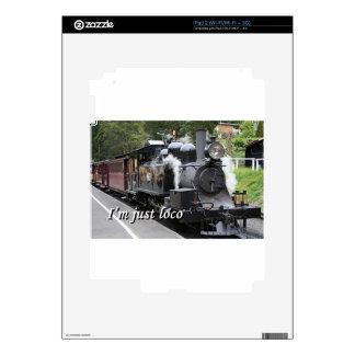 I'm just loco: steam engine, Victoria, Australia iPad 2 Skin