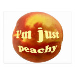 I'm just peachy post cards