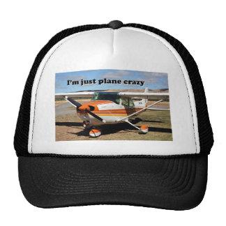 I'm just plane crazy: Cessna aircraft Trucker Hat