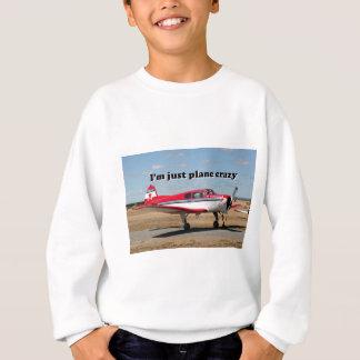I'm just plane crazy: Yak aircraft Sweatshirt