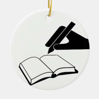 I'm Killing You Off Next Double-Sided Ceramic Round Christmas Ornament