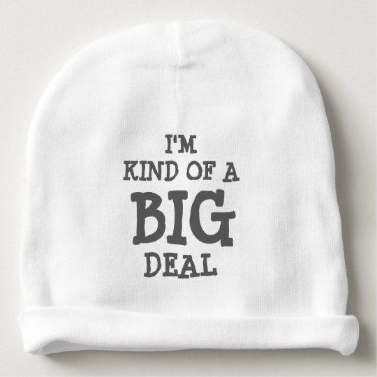 I m kind of a BIG deal beanie hat for baby  e8a518499e24