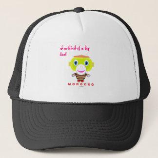 I'm Kind Of A Big Deal-Cute Monkey-Morocko Trucker Hat