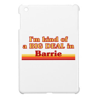 I'm Kind of a Big Deal in Barrie iPad Mini Cases