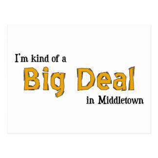 I'm kind of a Big Deal in Middletown Postcard