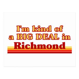 I'm Kind of a Big Deal in Richmond Postcard