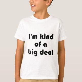 I'm kind of a Big Deal Kids Orange T-shirt
