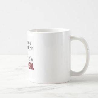 I'm kind of a big deal classic white coffee mug