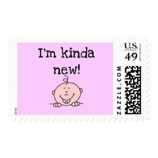 I'm Kinda New Tshirts and Gifts Postage Stamps