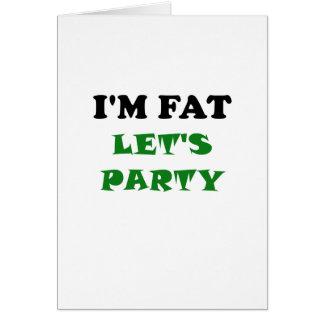 Im la grasa deja al fiesta tarjetón