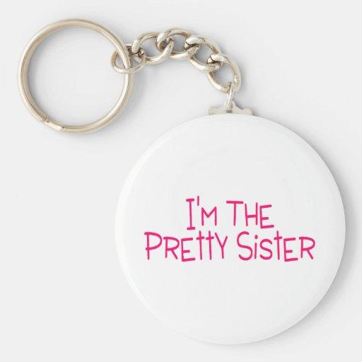 Im la hermana bonita llavero personalizado