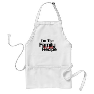 Im la receta del secreto de la familia delantales