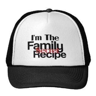 Im la receta del secreto de la familia gorros bordados