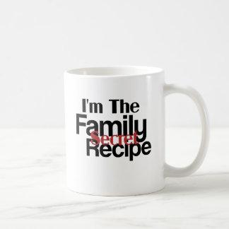 Im la receta del secreto de la familia taza